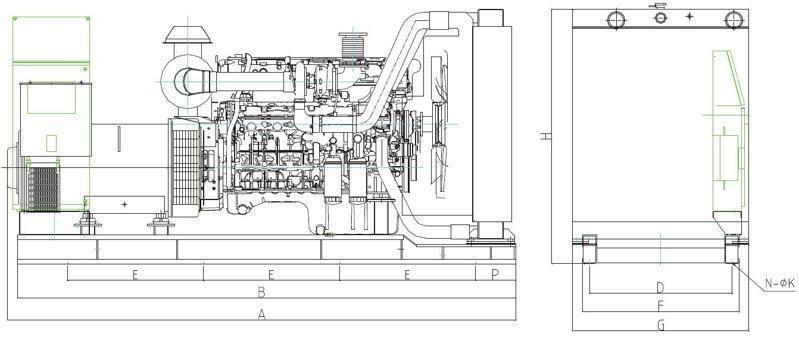 上柴柴油发电机组300千瓦功率突破