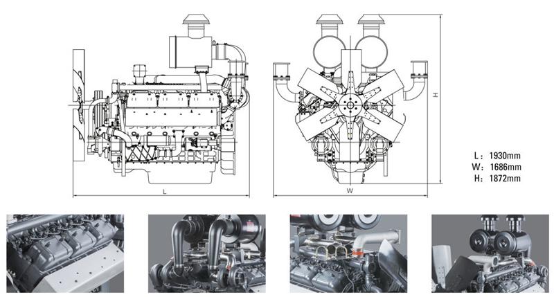 上柴400kw柴油发电机组价格多少钱